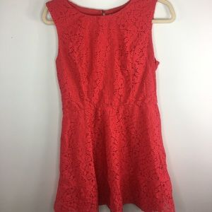 Delia's Red Lace Dress